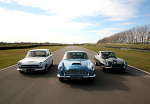 British Classics Driving Thrill At Goodwood