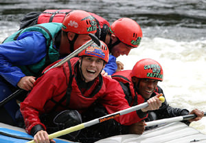 White Water Rafting Thrill