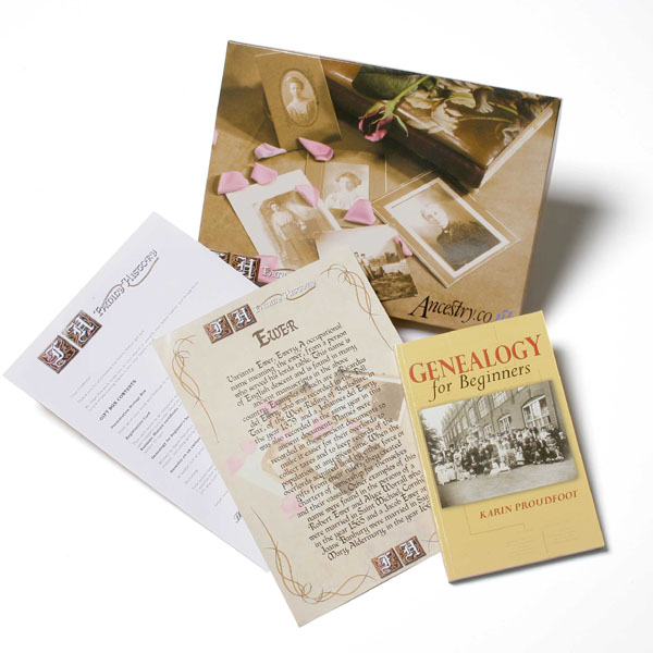 Family History Gift Box - The Gift Experience Gifts