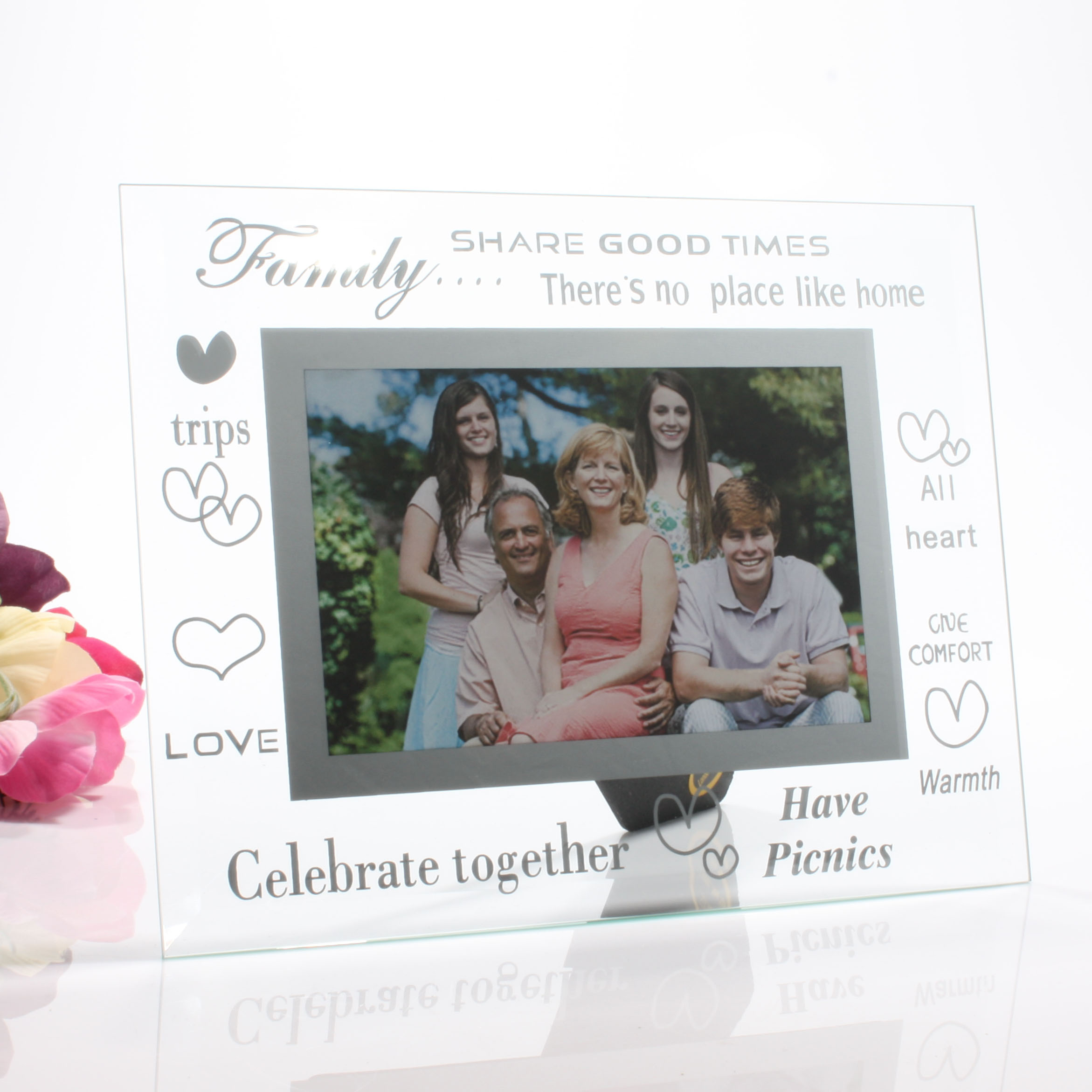 Moments Family Glass Frame