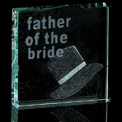 Father of the Bride - Paperweight