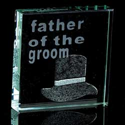 Father of the Groom - Paperweight