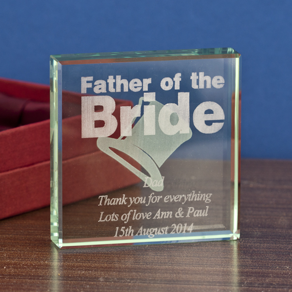 Father of the Bride Keepsake