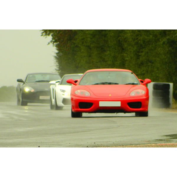 Ferrari Driving Thrill With Passenger Ride