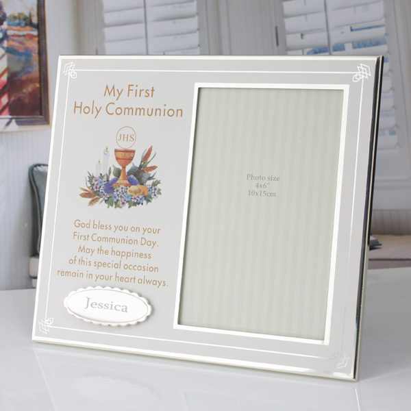 Personalised First Holy Communion Photo Frame - First Holy Communion Gifts