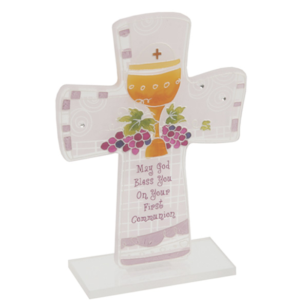 On Your First Holy Communion Cross - First Holy Communion Gifts