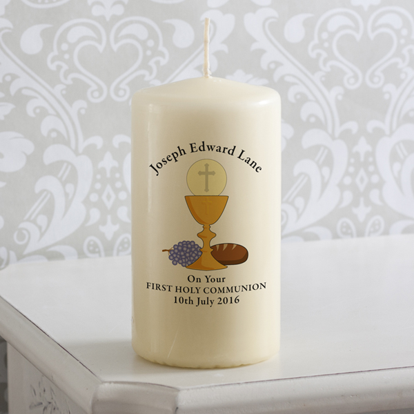 1st Holy Communion Candle - First Holy Communion Gifts