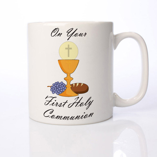 On Your First Holy Communion Personalised Mug - First Holy Communion Gifts
