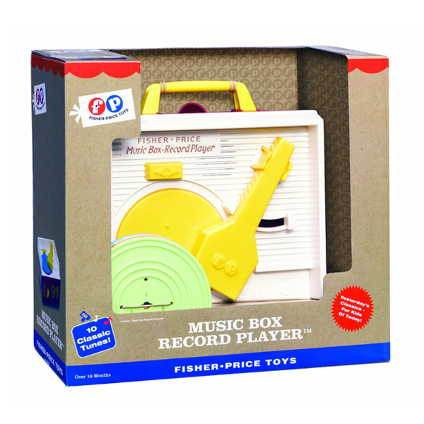 Fisher Price Record Player - Fisher Price Gifts