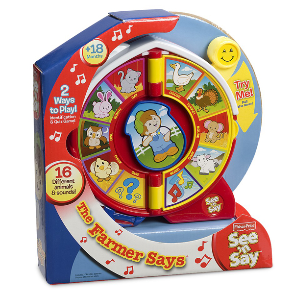 Fisher Price Farmer See and Say - Fisher Price Gifts