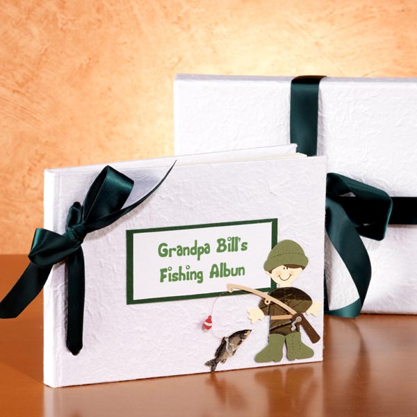Personalised Fishing Album - Fishing Gifts