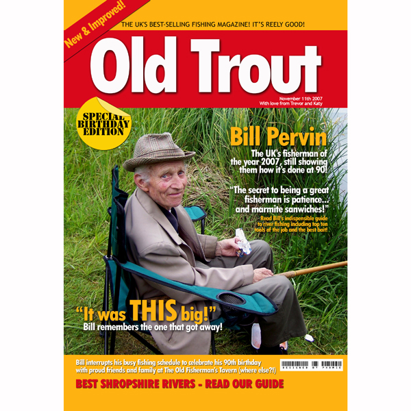 Personalised Sports Magazine Cover Fishing - Fishing Gifts