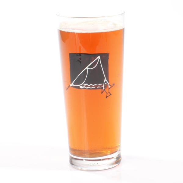 Fishing Pint Glass