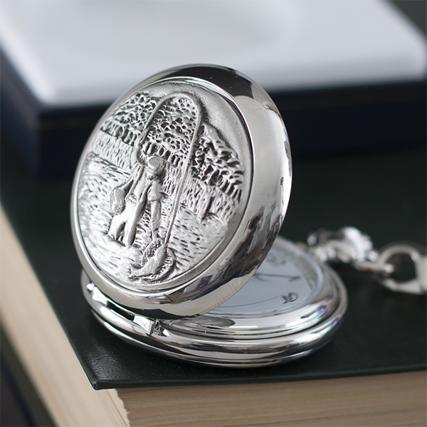 Personalised Fishing Pocket Watch - Fishing Gifts
