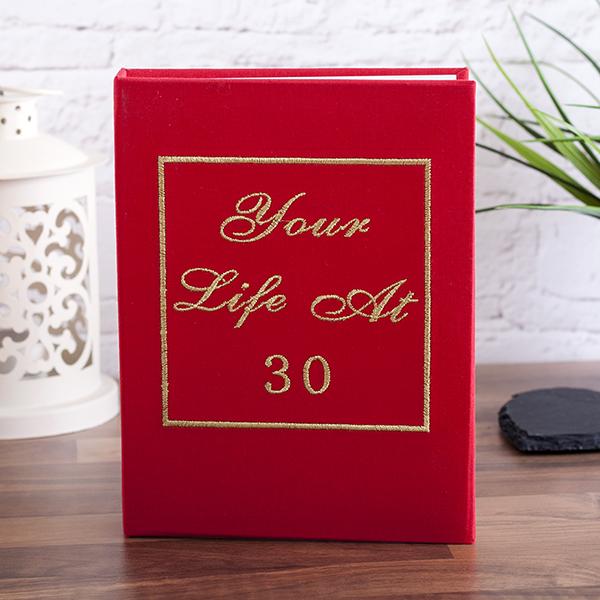 Your Life At 30 Photo Album - Photo Album Gifts