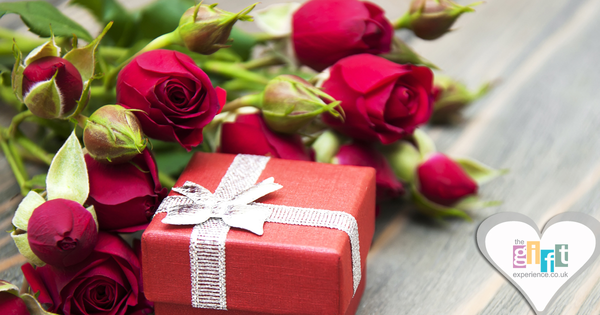 Valentine's Day Flowers and a gift