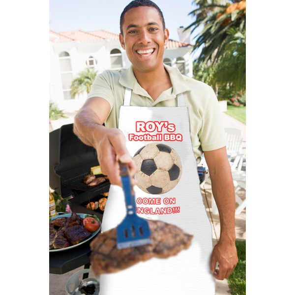 Football BBQ Apron - Bbq Gifts