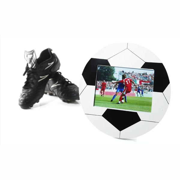 Football Photo Frame Black