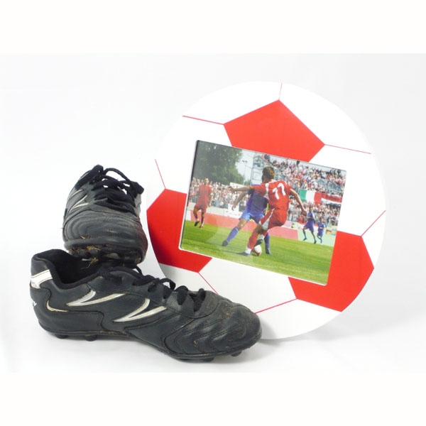 Football Photo Frame Red
