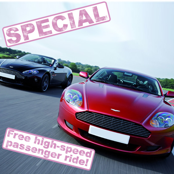 Supercar Driving Thrill and Free Passenger Ride - Thrill Gifts