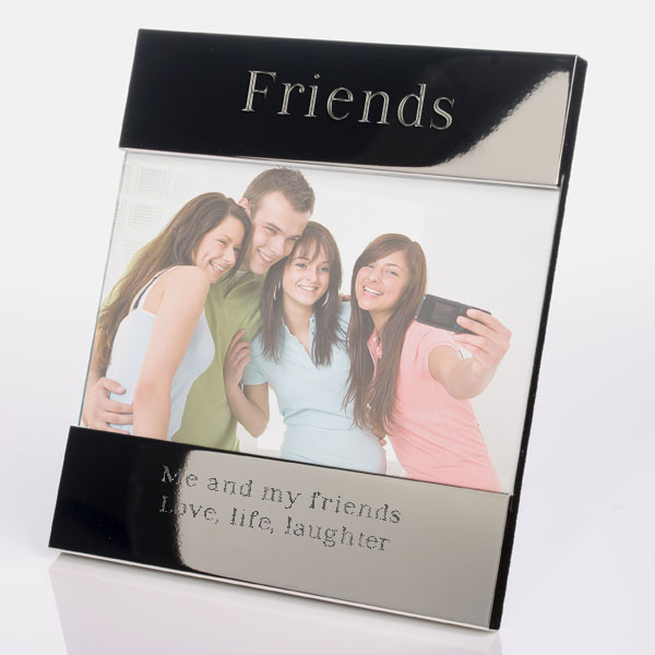 Engraved Friends Photo Frame - Photo Gifts