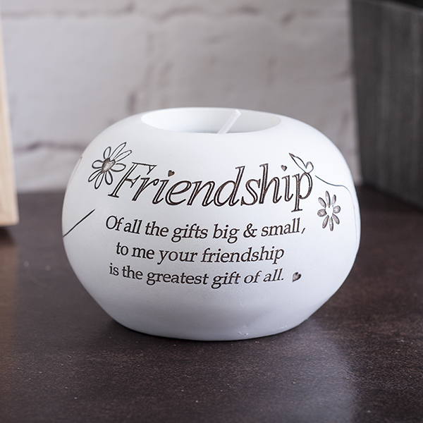 Friendship Tea Light Holder - Friendship Gifts