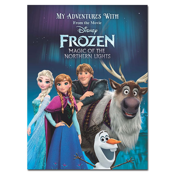 My Adventures with Disney Frozen Magic Of The Northern Lights Book