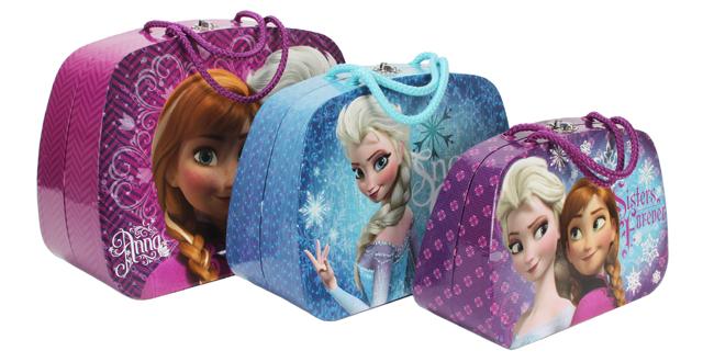 Disney Frozen Set of 3 Large Cases