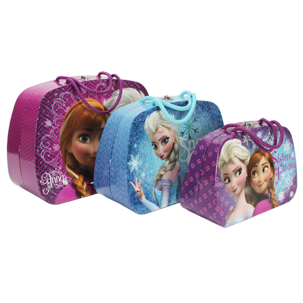 Disney Frozen Set of 3 Large Cases