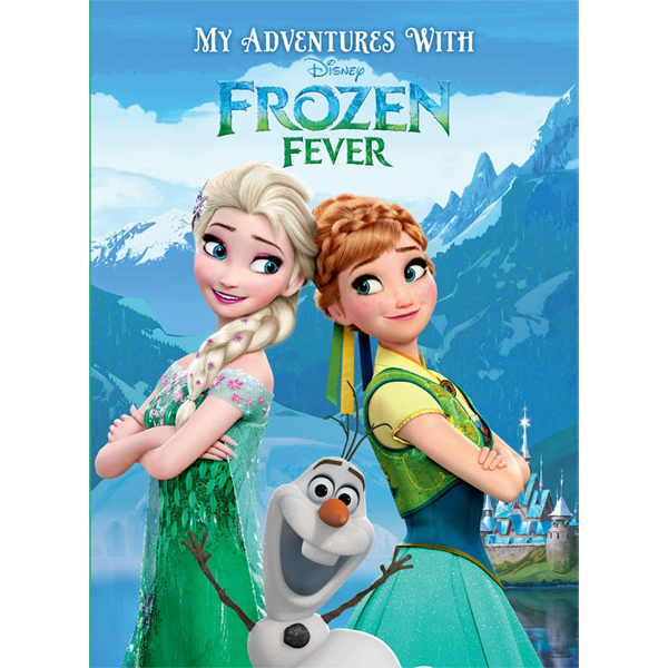 My Adventures with Disney Frozen Fever - Personalised Story Book Big Size
