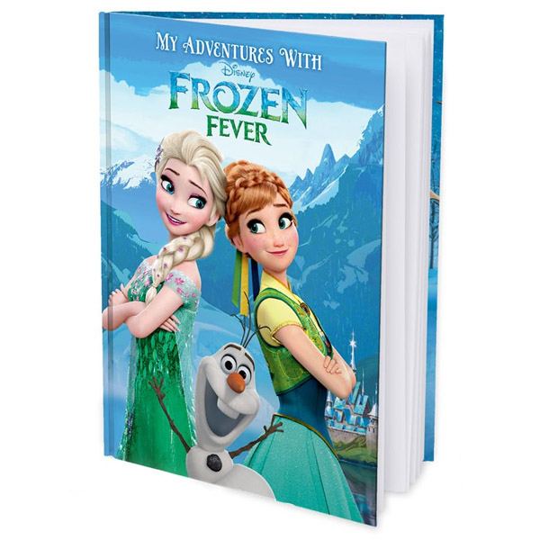 My Adventures with Disney Frozen Fever - Personalised Storybook Hard Cover