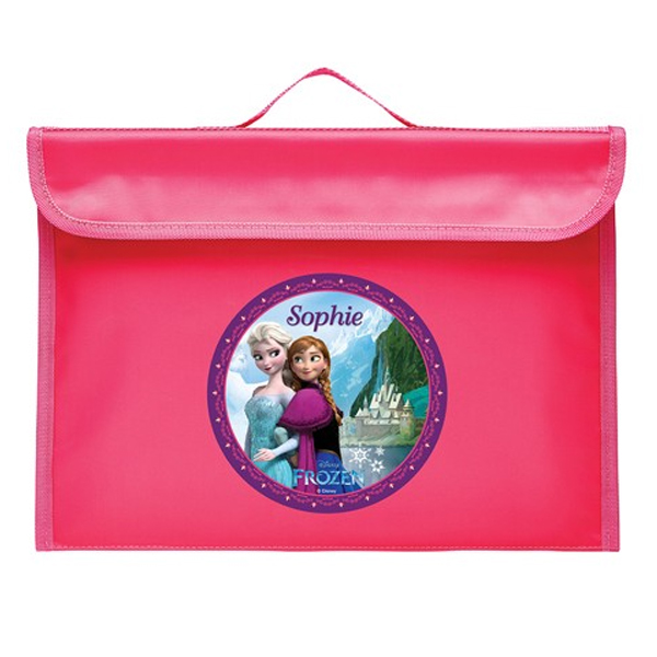 Disney Frozen Library Bag Pink - Disney Frozen Gifts