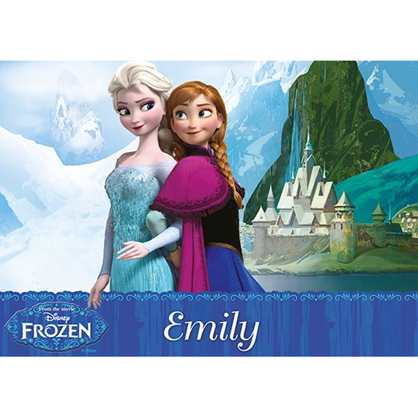 Personalised Disney Frozen Double-Sided Placemat - Disney Gifts