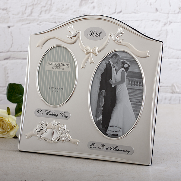 30th Anniversary Photo Frame