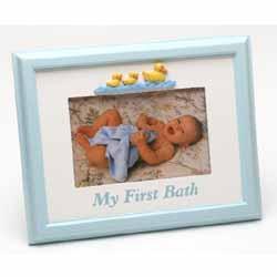 My First Bath Frame Blue