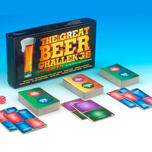 Great Beer Challenge Game - Seek Gifts