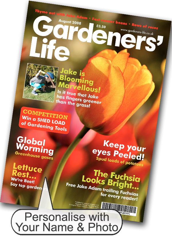 Gardening Magazine Spoof Print Only - Gardening Gifts