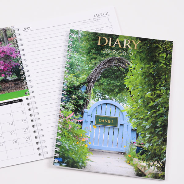 Personalised Gardening Diary