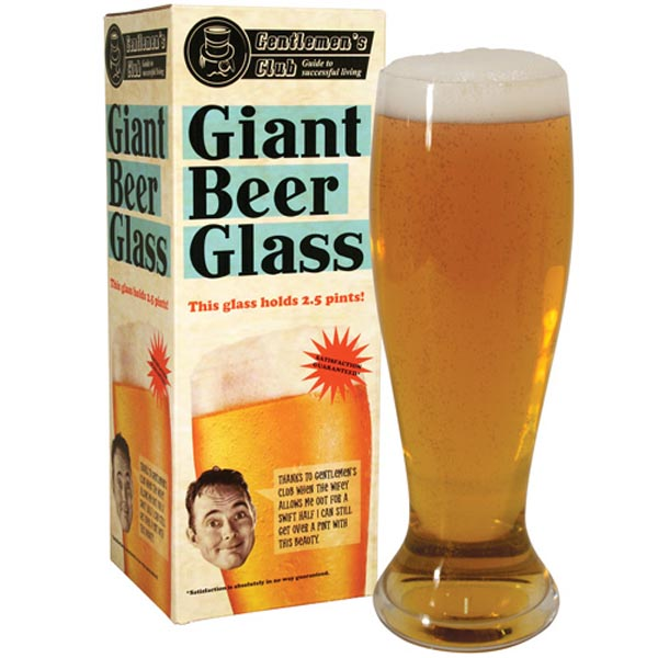 Personalised Giant Beer Glass - Beer Glass Gifts