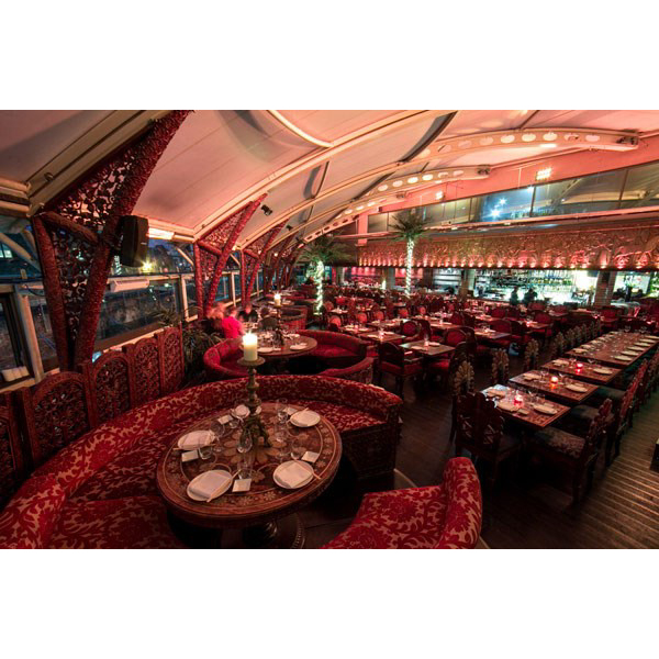 Three Course Meal And Champagne Cocktail For Two At Gilgamesh  Camden Market