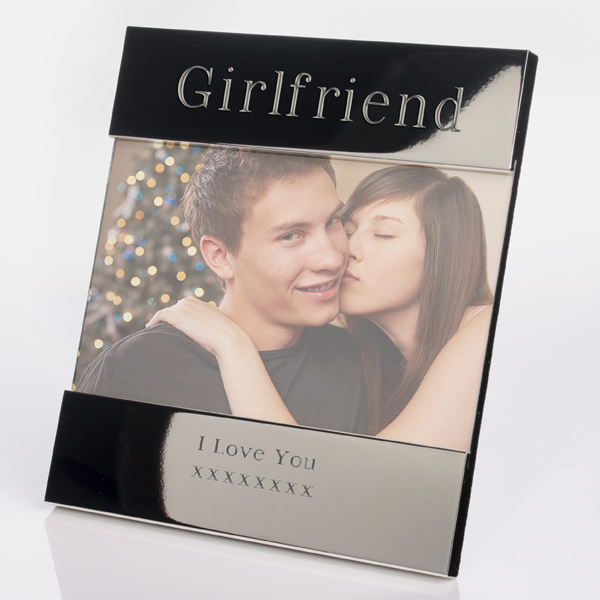 Engraved Girlfriend Photo Frame - Girlfriend Gifts