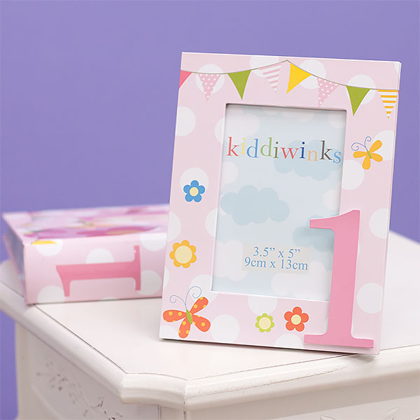 1st Birthday Photo Frame and Photo Album Set - Girl - 1st Birthday Gifts