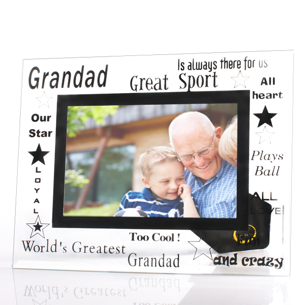 Grandad Glass Photo Frame - Grandad Gifts