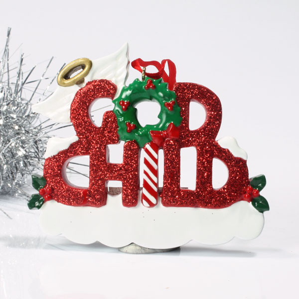 Personalised Godchild Hanging Ornament - Ornament Gifts