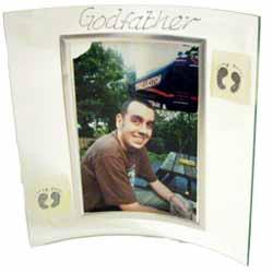 Godfather Glass Photo Frame