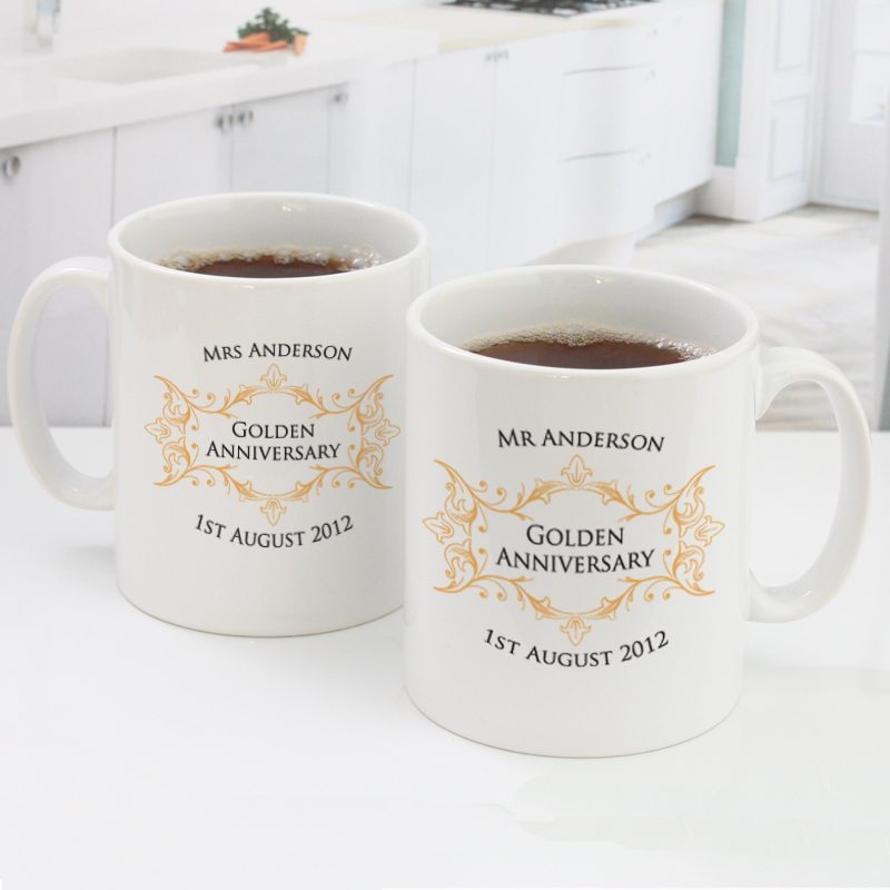 Golden wedding anniversary gifts mum and dad
