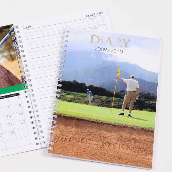 Personalised Golf Diary