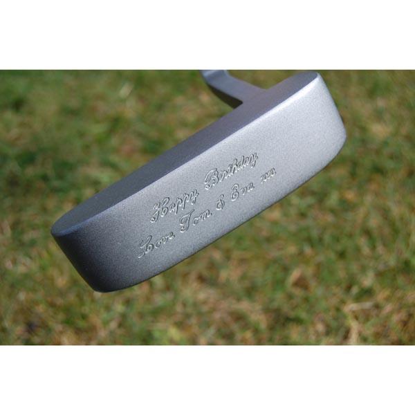 Best Man Engraved Golf Putter