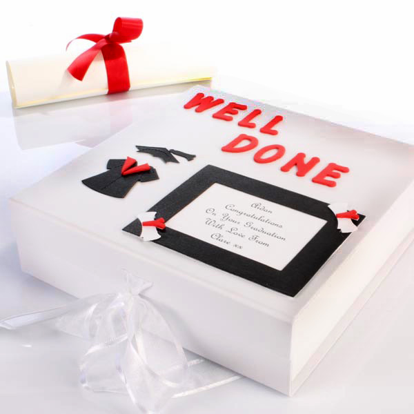 Personalised Graduation Memory Box - Graduation Gifts