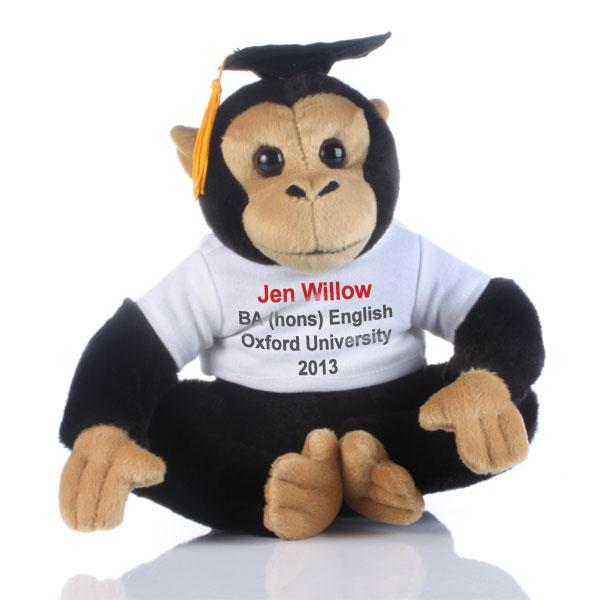Graduation Message Monkey - Monkey Gifts